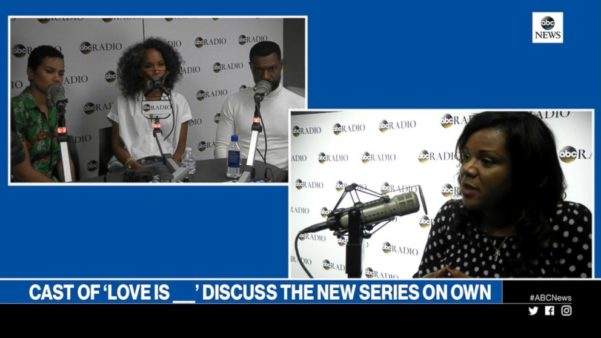 Mara Brock Akil and Cast of Love Is ____ discuss the